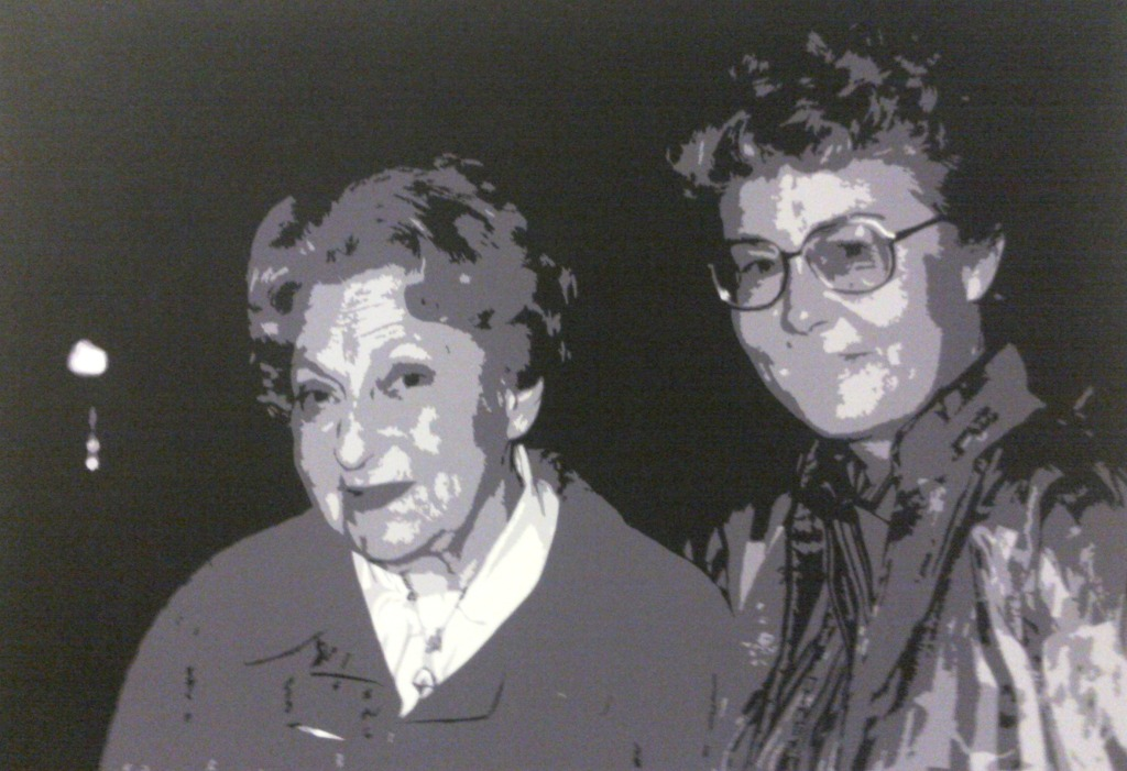 Dos grandes visionarias del arte español, Juana Mordó y Helga de Alvear.