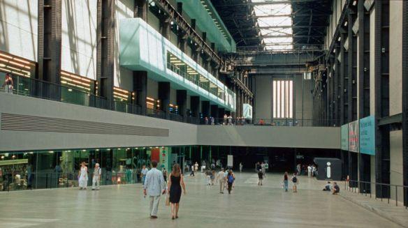 Sala de las turbinas, Tate Modern, Londres.