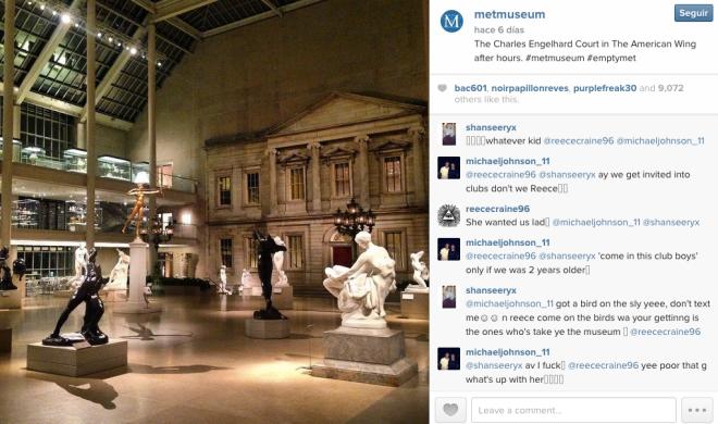 museo metropolitan nueva york instagram