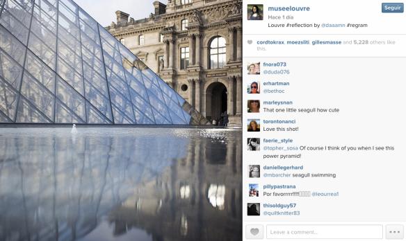 museo del louvre instagram paris