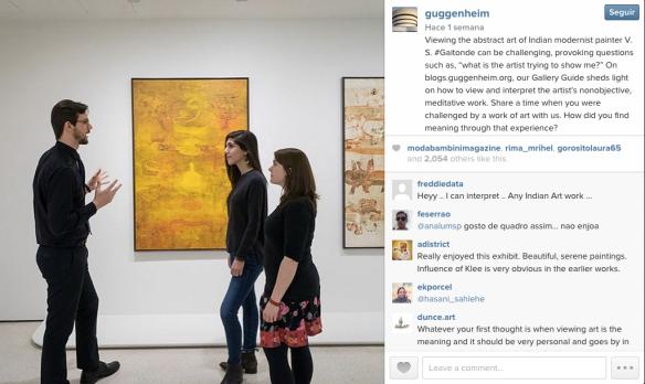 Guggenheim nueva york instagram