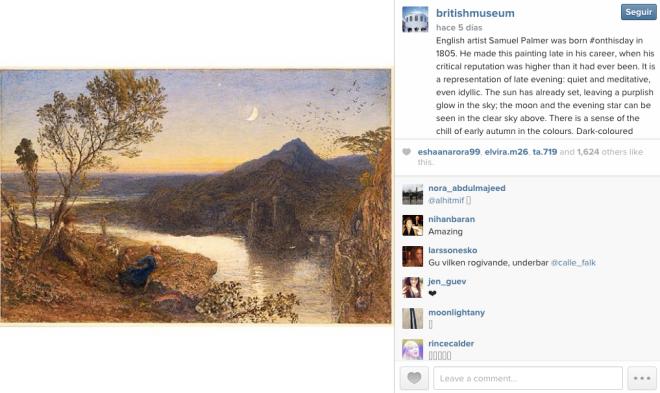 museo britanico reino unido Instagram