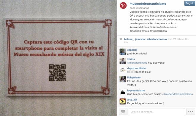 Museo del romanticismo instagram