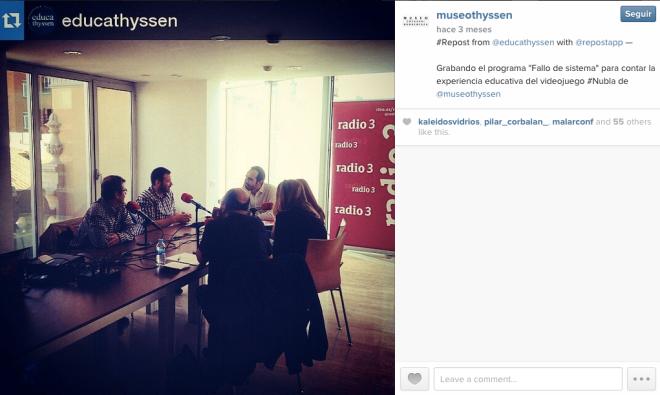 museo thyssen madrid Instagram
