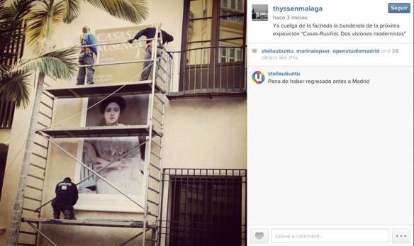 museo thyssen malaga instagram