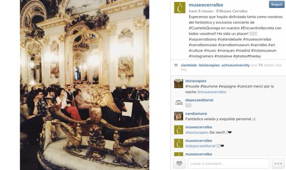museo cerralbo madrid instagram